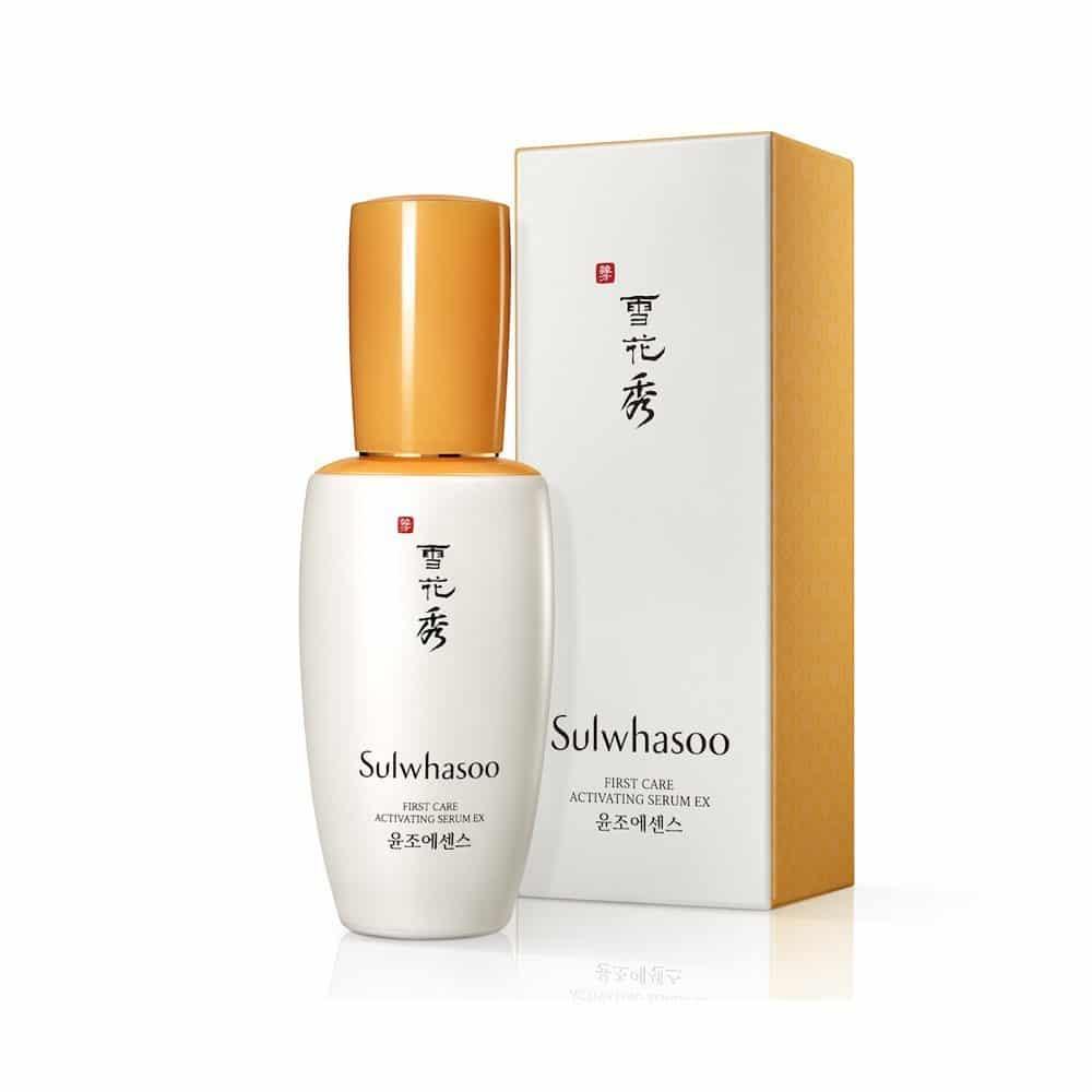 Best Korean anti-aging serum for oily skin