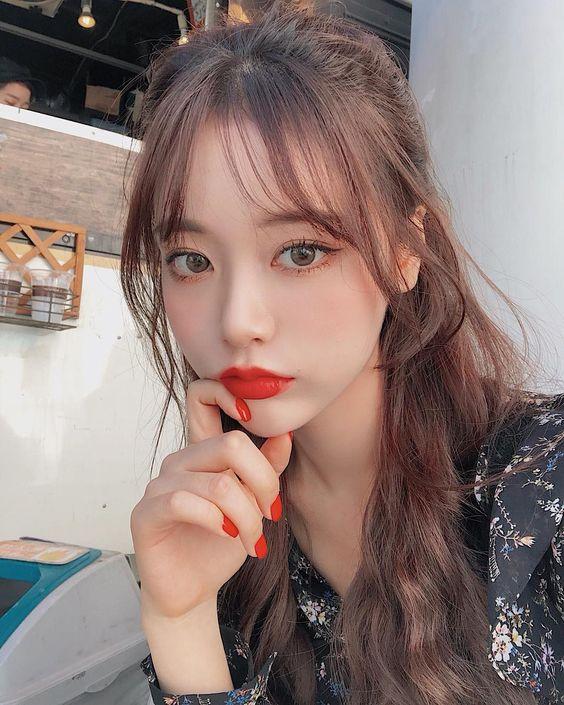 How Korean Girls Style Their Bangs 2021 Best Korean Products