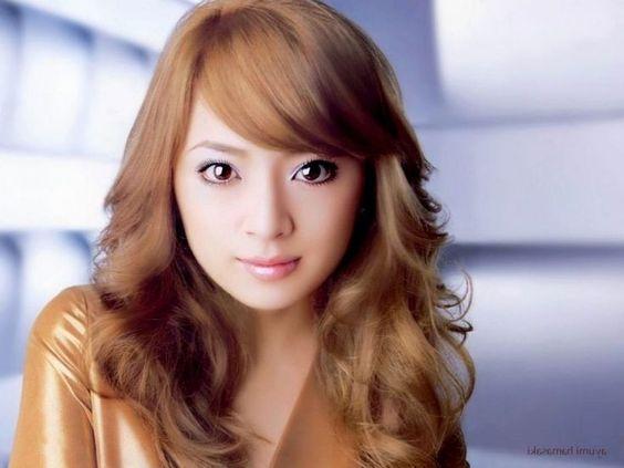 korean baby hair bangs