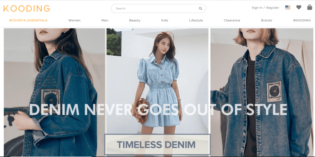 top Korean online fashion website