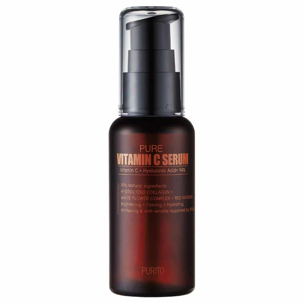 best korean vitamin c serum for acne prone skin