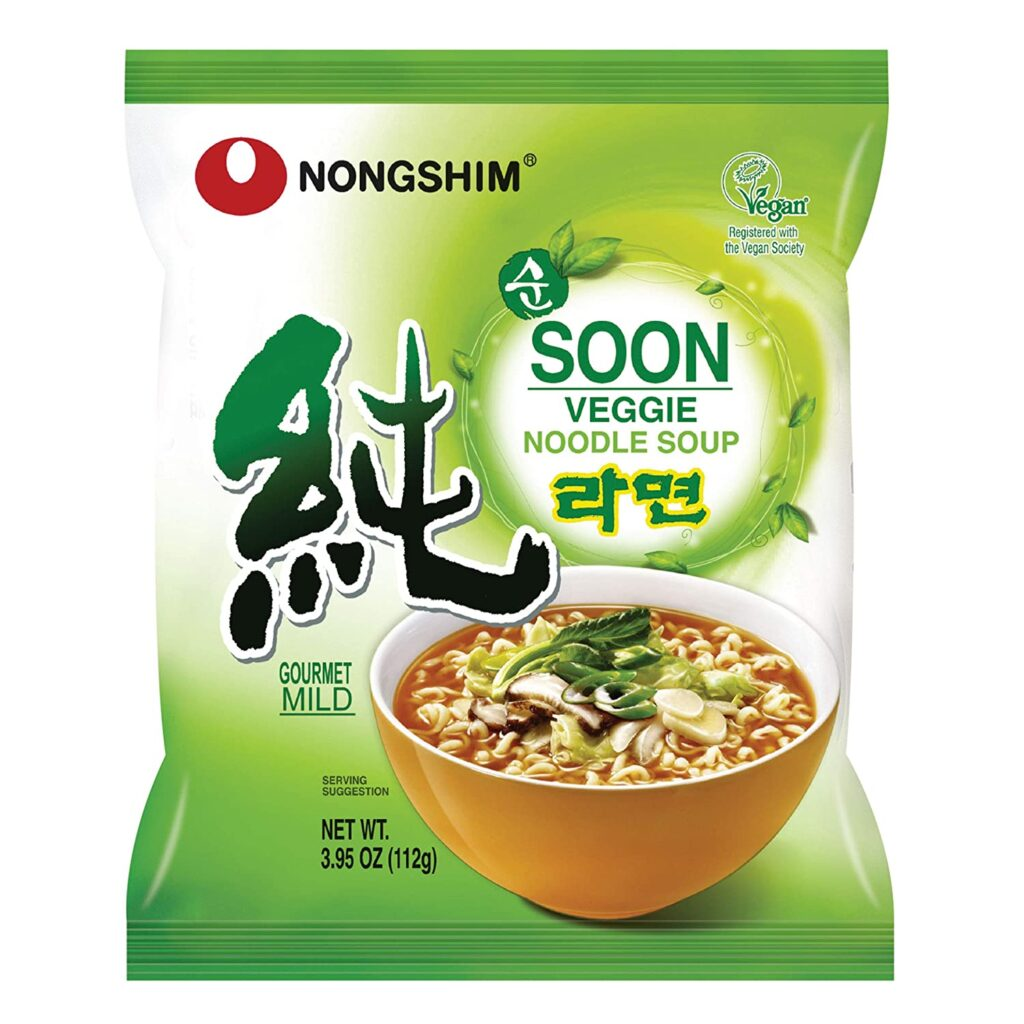 best korean instant noodles not spicy