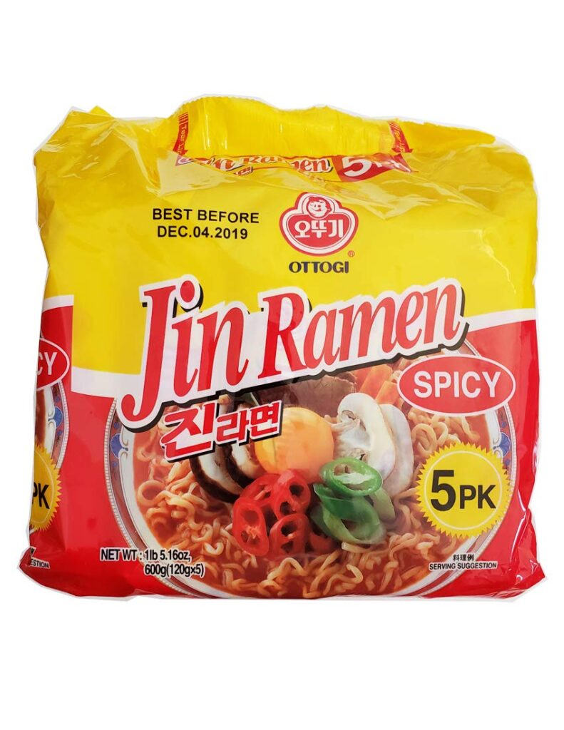 korean instant noodles spicy